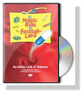 magic ride in foozball land diabetes dvd